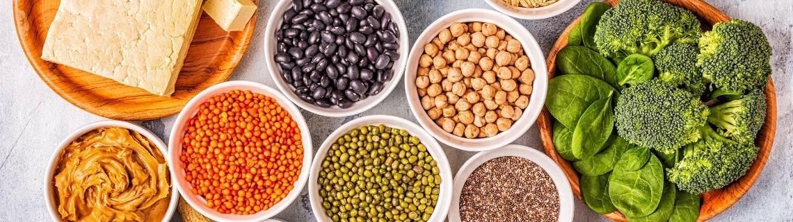 vegan beslenmede kullanılan yiyecekler