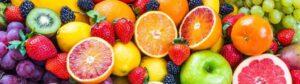 karışık meyve porsiyonu